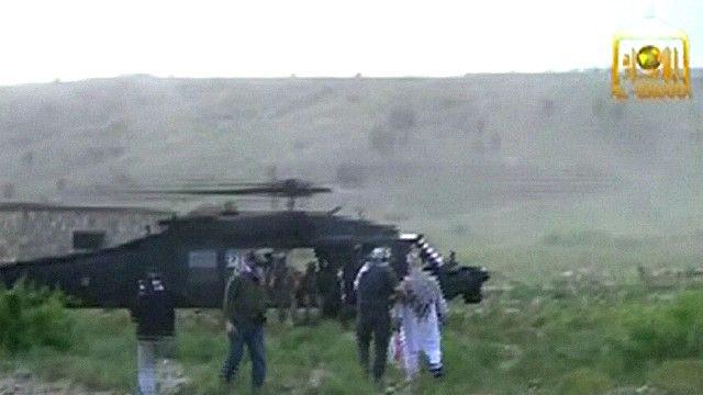 Передача сержанта Бергдала США, заснятая талибами