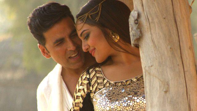 अक्षय कुमार और सोनाक्षी सिन्हा