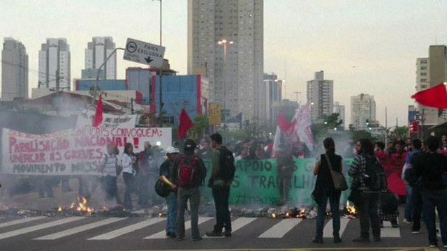 إضراب عمال المترو