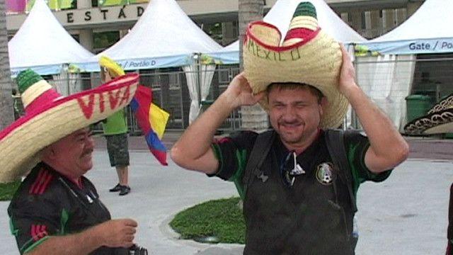 Hinchas mexicanos