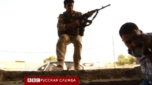Курдский ополченец в Ираке