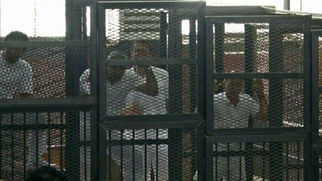 """Осужденные журналисты """"Аль-Джазиры"""""""
