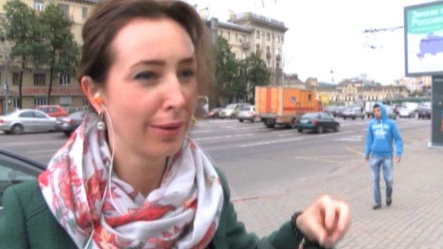 Киевляне и москвичи: если российские войска не введут