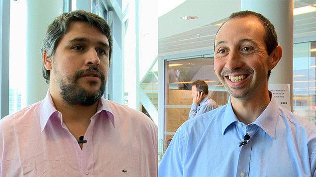 Alejandro Millán y Roberto Belo