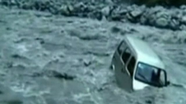 Inundações na China (BBC)