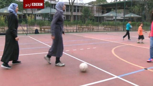 برازیل میں  پناہ گزينوں خواتین کا ورلڈ کپ