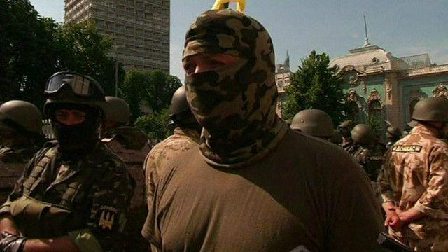 """Бойцы батальона """"Донбасс"""" готовы сражатсья, за свою родину в составе Украины"""