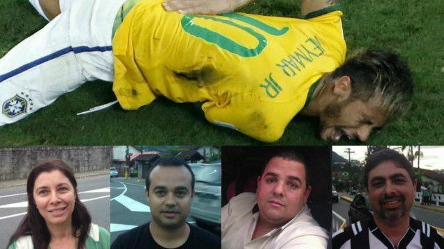 Torcedores opinam sobre futuro da seleção sem Neymar | Crédito: Montagem/BBC