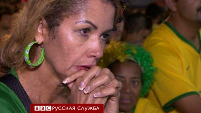 Бразильская футбольная болельщица