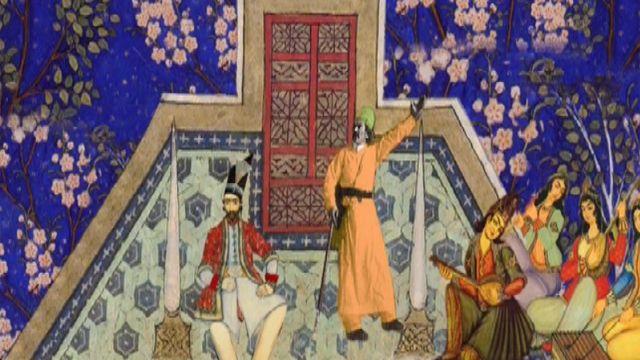 صحنه نقل داستان امیر ارسلان نامدار