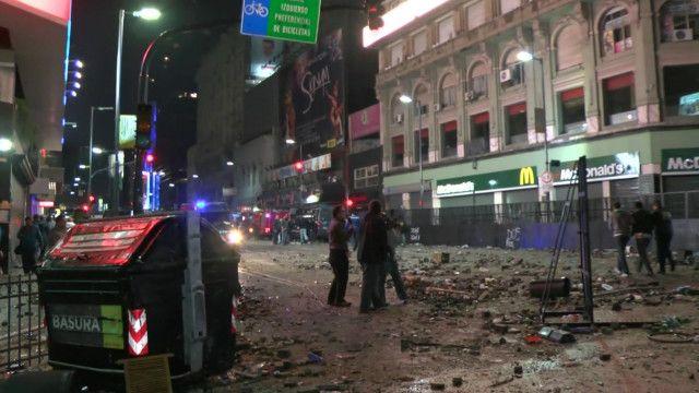 Desrtozos en Buenos Aires