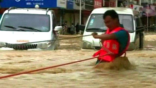 Наводнение в Фэнхуане