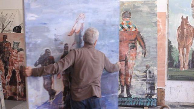 نیکزاد نجومی، هنرمند ایرانی