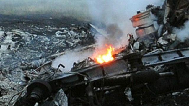 місце аварії літака рейсу МН17