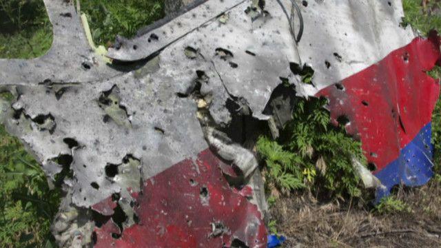 Обломок самолета