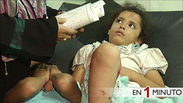 Víctimas del ataque a la escuela de ONU en Gaza