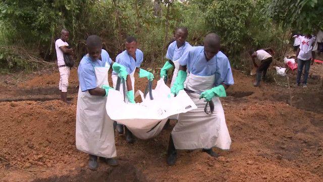 Taba gawar mamaci wanda ya mutu ta hanayar ebola na da hatsarin gaske
