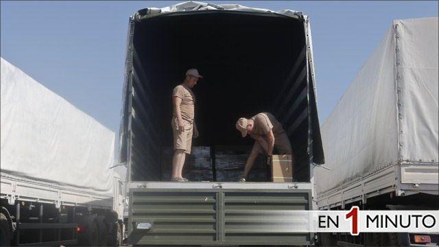 Convoy de ayuda humanitaria