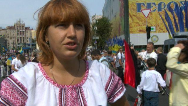 Военный парад приуроченный к 23-й годовщине Независимости Украины