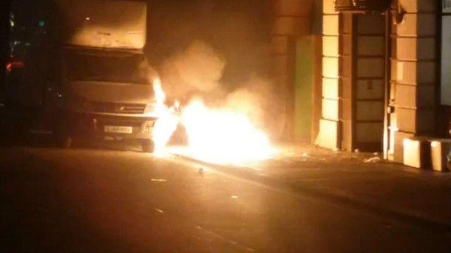 倫敦人行道爆炸