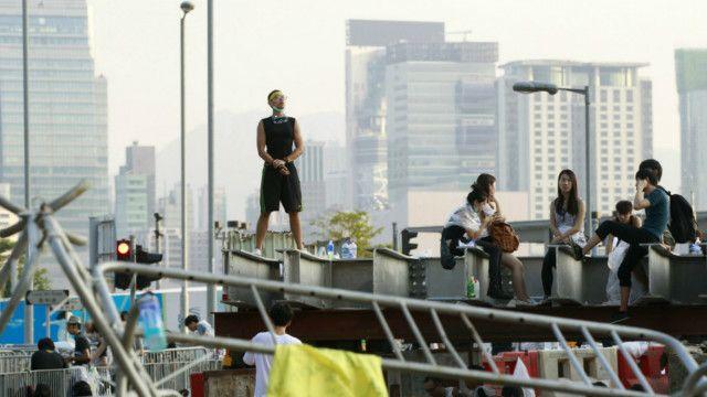 Người biểu tình tại Hong Kong