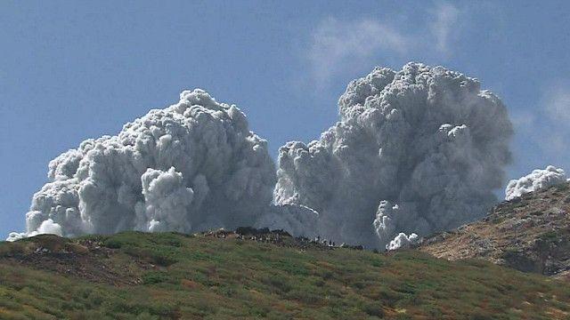 بركان في جبل أونتاكي
