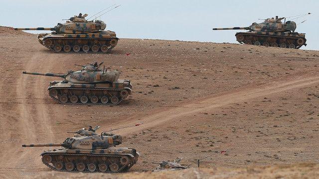 Turkey border fighting