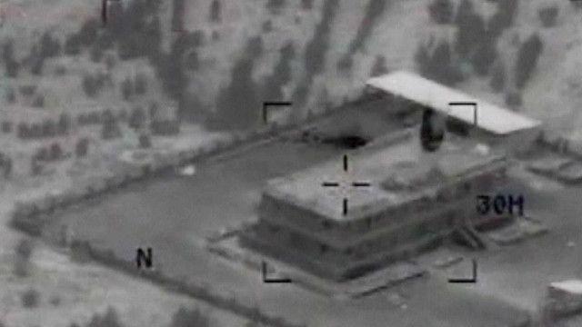 اماكن استهداف الغارات الامريكية في كوباني
