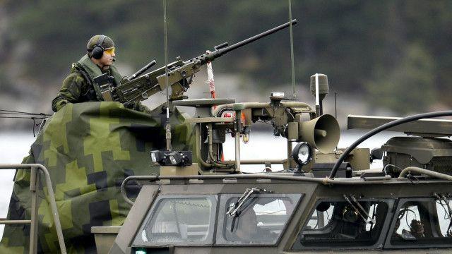 шведский военнослужащий