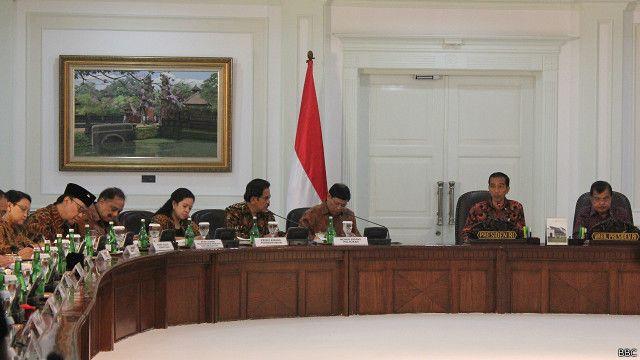 Pejabat administrasi negara di istana dinilai ceroboh bbc indonesia - Kabinet multimedia ...