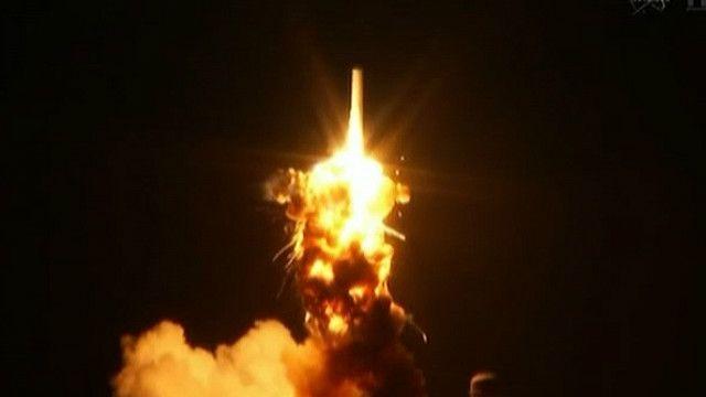 Phi thuyền không người lái Antares phát nổ trên không
