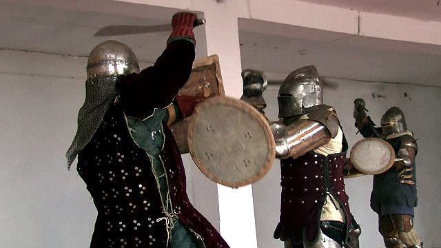 Репетиция боевого клуба