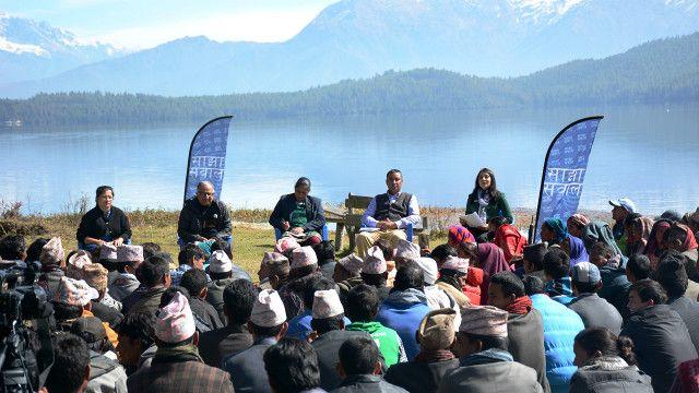 नरेश शर्मा, गोमा कुँवर, अजय दीक्षित र मीता प्रधानसँग