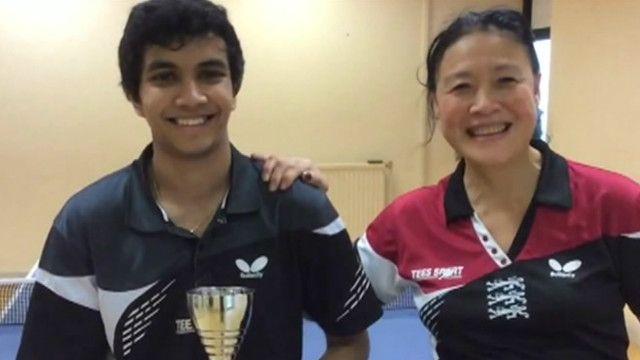 黄舒和她的训练学生