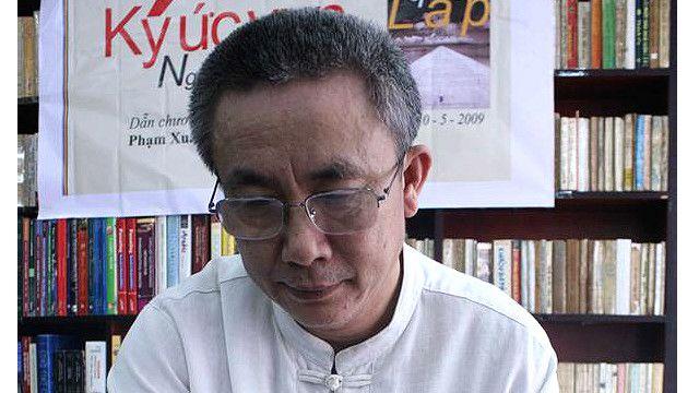 Nhà văn, blogger Nguyễn Quang Lập