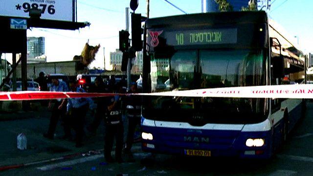 حافلة في تل ابيب