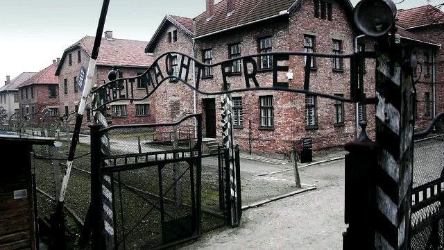 Освенцим с высоты птичьего полета