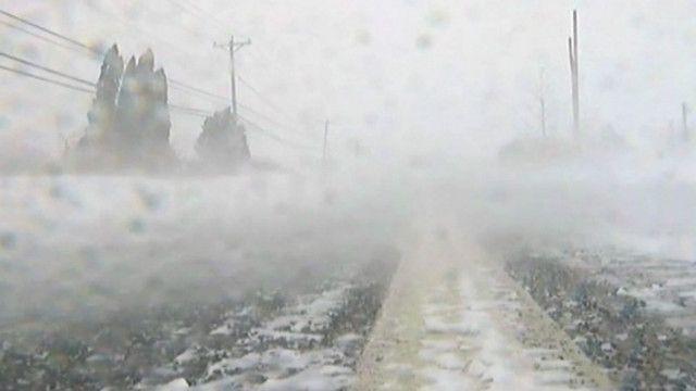 Neve em Boston / Crédito: Reproducao