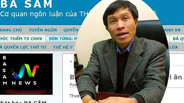 Blogger Ba Sàm Nguyễn Hữu Vinh