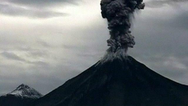 Vulcão no México