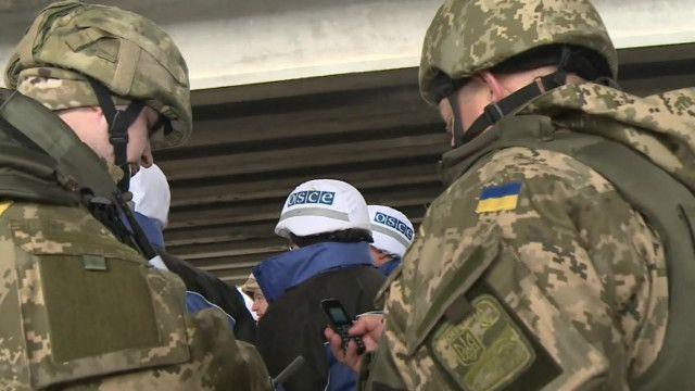 ОБСЕ вновь сообщает о нарушении перемирия под Донецком