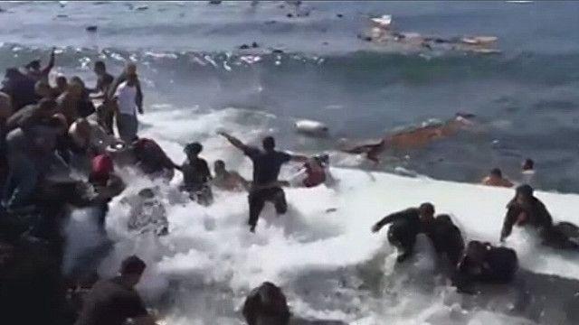 Крушение судна у Родоса