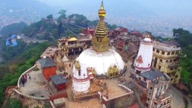 Ndege zisizokuwa na rubani zatumiwa kupeleka msaada Nepal