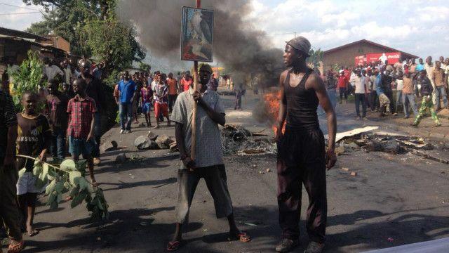 Watu watatu wadaiwa kuuawa katika maandamano nchini Burundi