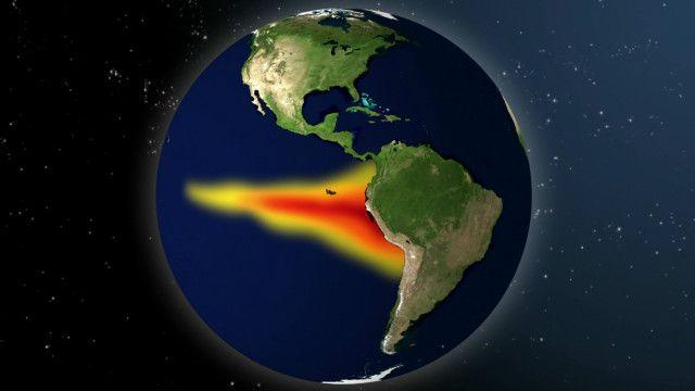 Ilustración del fenómeno de El Niño