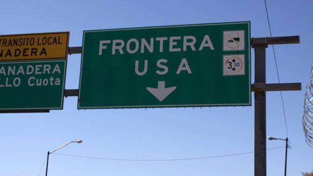 Frontera de EE.UU.y México