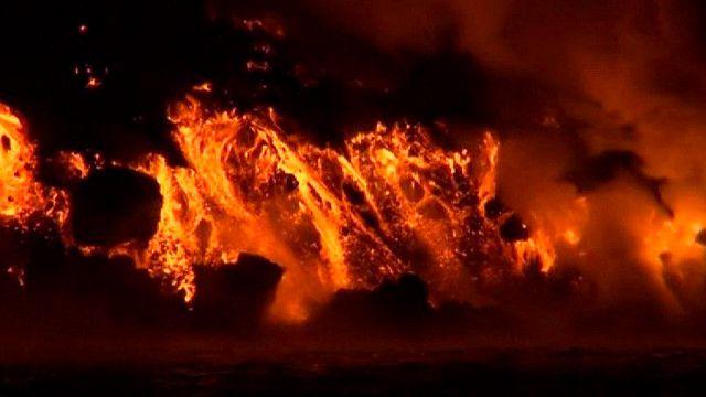 Извержение вулкана Вольф