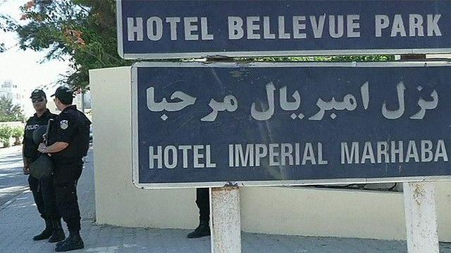 Меры безопасности в Тунисе