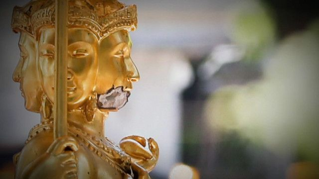 Tượng tại Đền Erawan, Bangkok, Thái Lan