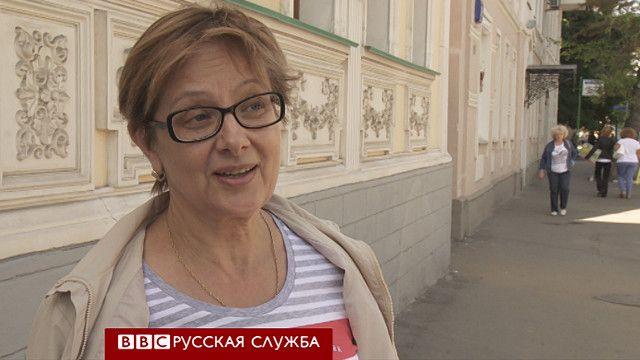 Прохожие в Москве о падении рубля